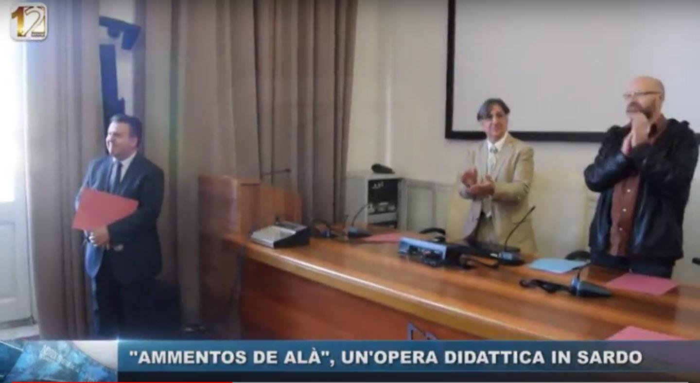 Ammentos de Alà, un'opera didattica in sardo - Servizio tv di Canale 12